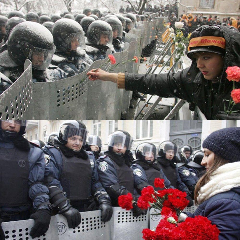 Майдан 2004 та 2014 у п'яти фото_1