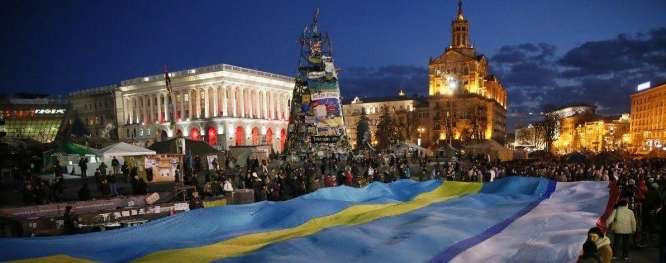 У Києві студенти з 27 країн Європи вшанували Героїв Небесної Сотні