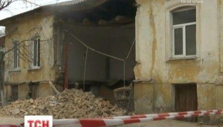 Житловий будинок обвалився просто у центрі Кропивницького