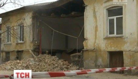 У центрі Кропивницького обвалився житловий будинок