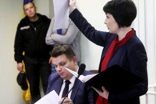 Допит Лукаш у ГПУ тривав більше двох годин і завершився зміною підозри