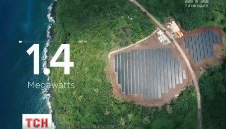 Вперше в історії цілий острів повністю перейшов на сонячну енергію