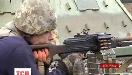З боку Оленівки до опорного пункту українських військових підійшла група диверсантів