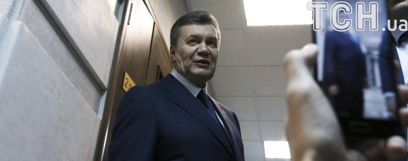 Другий допит Януковича. Хронологія подій