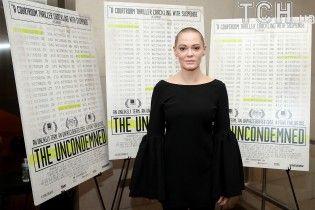 """""""Я пугаю людей"""": звезда кино Роуз Макгоуэн после разоблачения Вайнштейна не получила ни одной роли"""