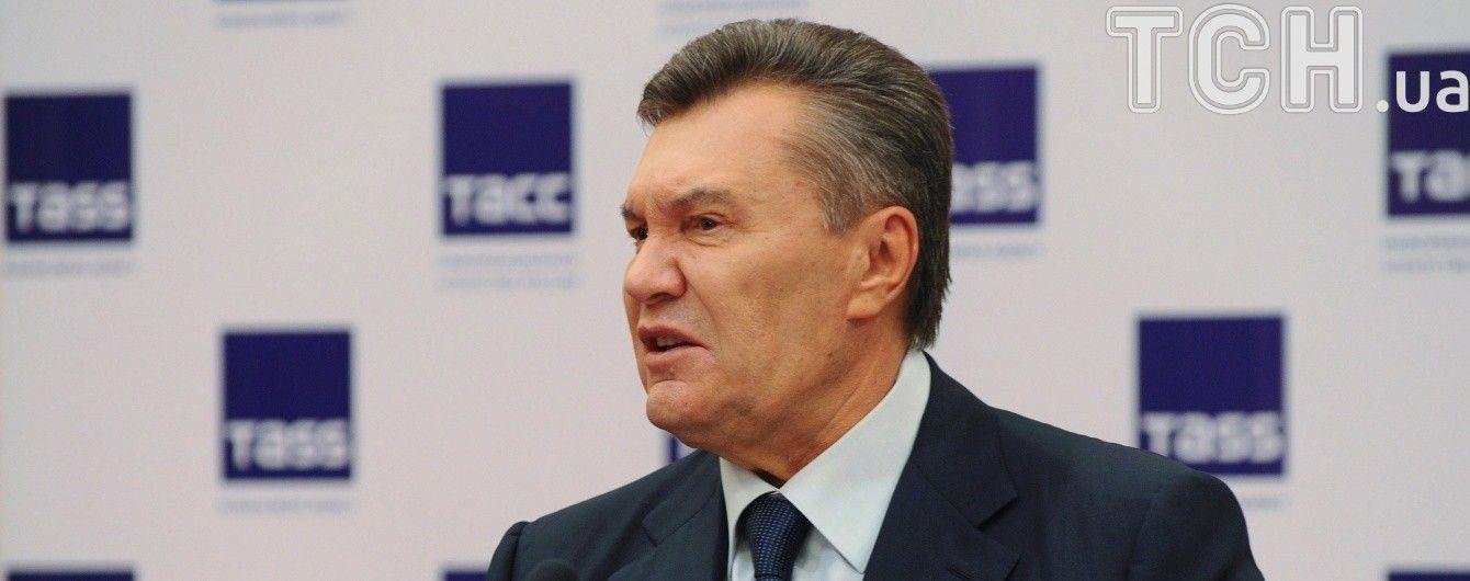 """Янукович заявил, что просил Путина ввести в Украину """"полицейских-миротворцев"""""""