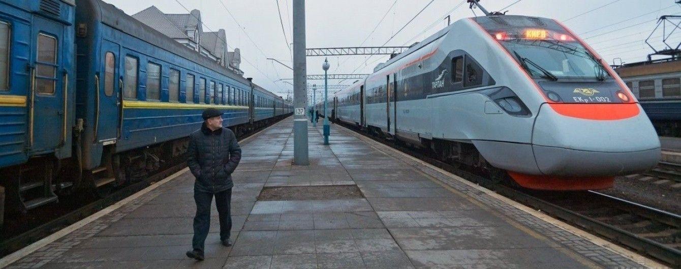 Новий потяг Київ-Ужгород доставлятиме пасажирів значно швидше