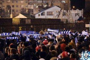 """Подымели. Ультрас """"Динамо"""" сделали совместное фото на пустом стадионе в Ахтырке"""