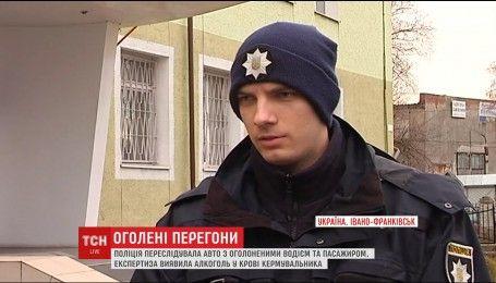 В Івано-Франківську патрульні зупинили голого водія з алкоголем в крові у 5 разів більше за норму