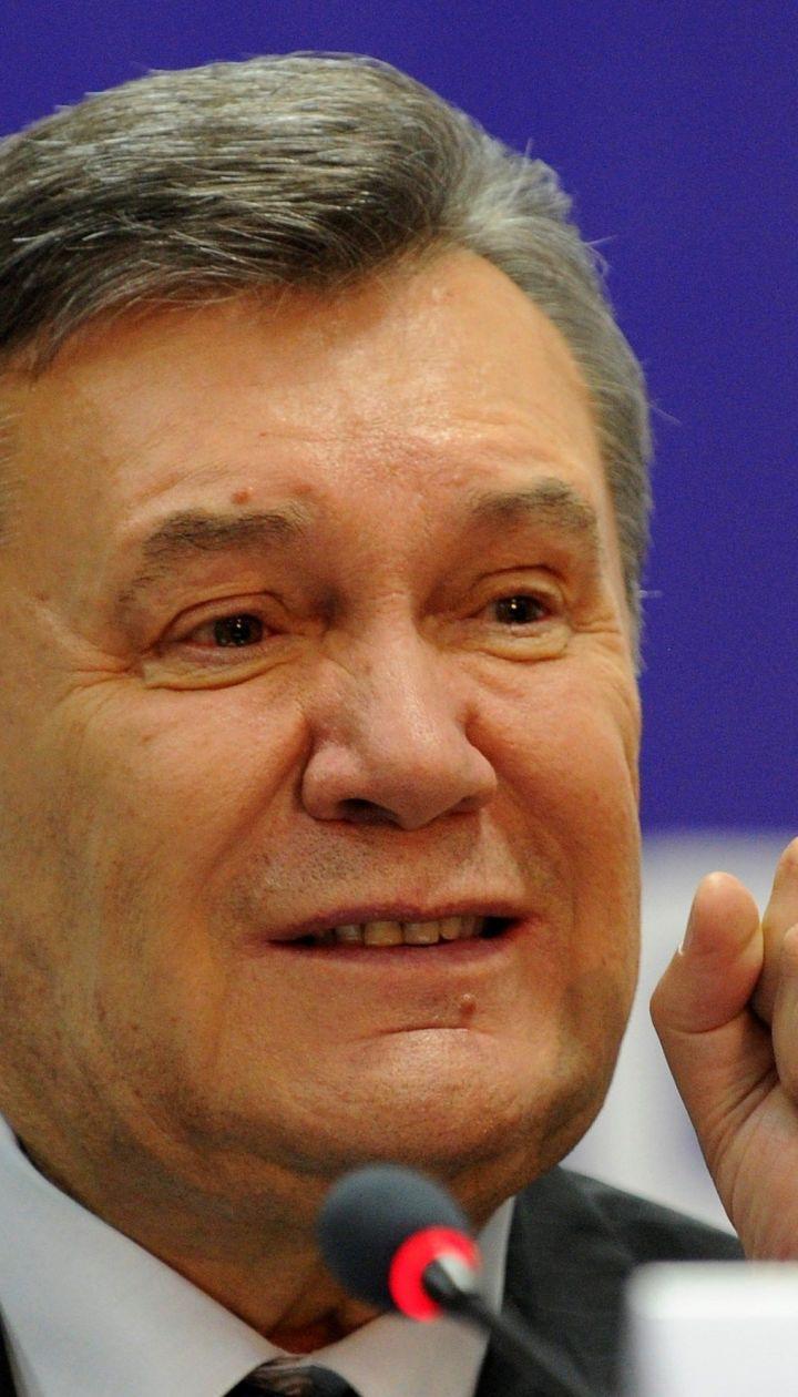 """Невдоволений рішенням суду Янукович назвав прізвища """"причетних"""" до розстрілів на Майдані"""
