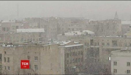 В Украину возвращаются морозы и метели