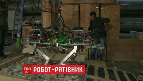 В Италии изобрели робота-спасателя, который будет работать во время землетрясений