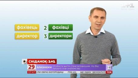 Согласование имен числительных с существительными - экспресс-урок украинского языка