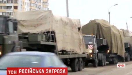 Россияне перебросили в Крым зенитно-ракетные комплексы С-300