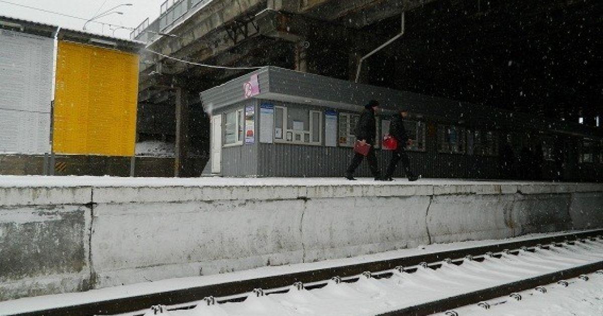 Женщина попала в больницу @ ГУ Национальной полиции в Киевской области