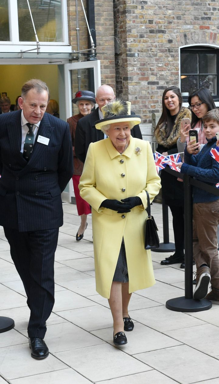 Королева Елизавета II вколледже Гуденаф