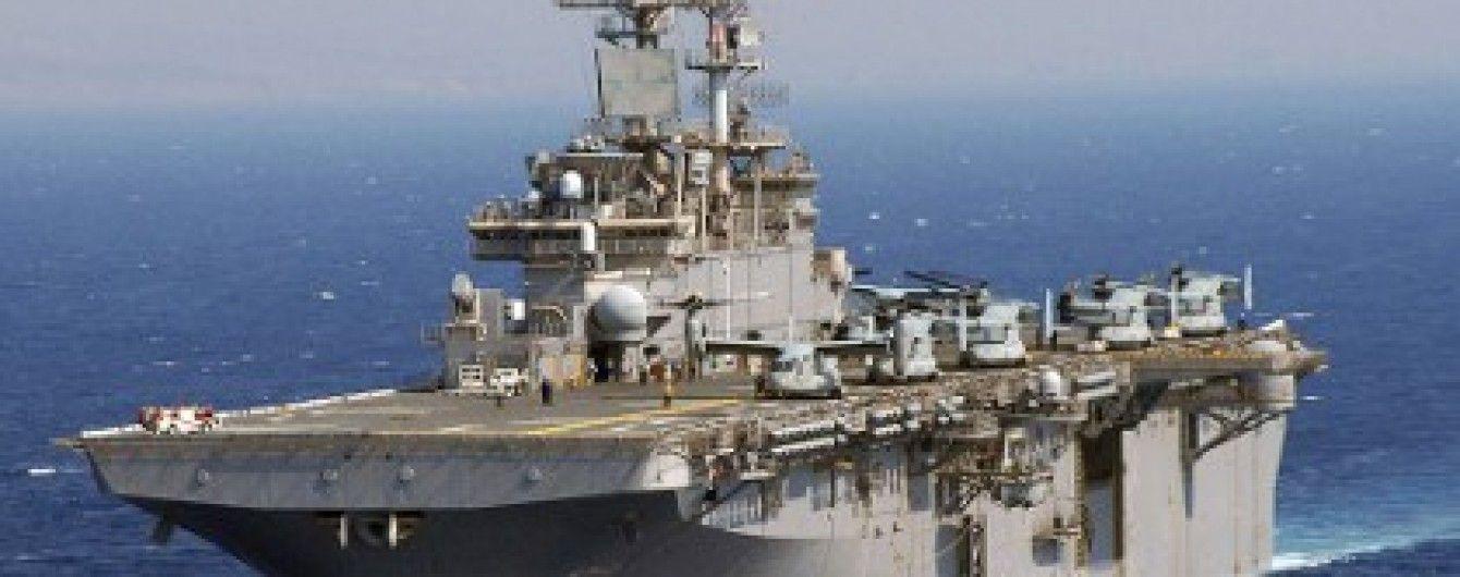 Два кораблі ВМС США увійшли в Середземне море