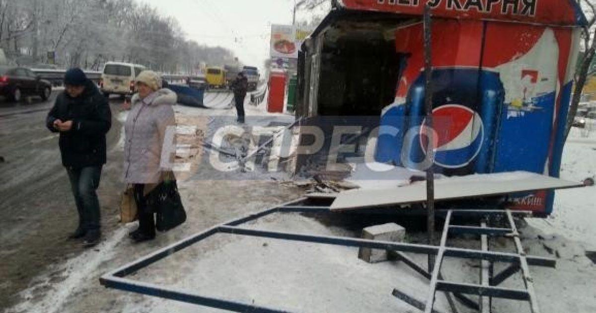 Фото с места аварии @ Еспресо.TV
