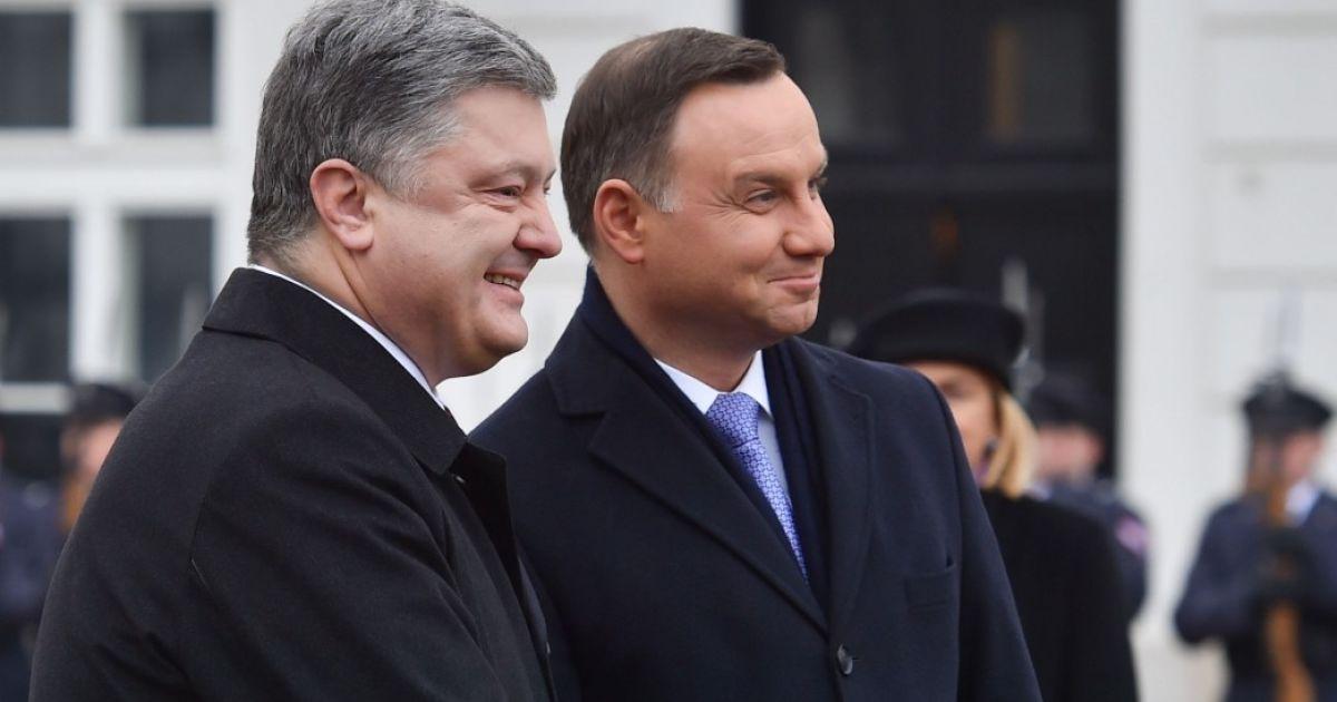 """Порошенко резко отреагировал на польский закон о запрете """"бандеровской идеологии"""""""