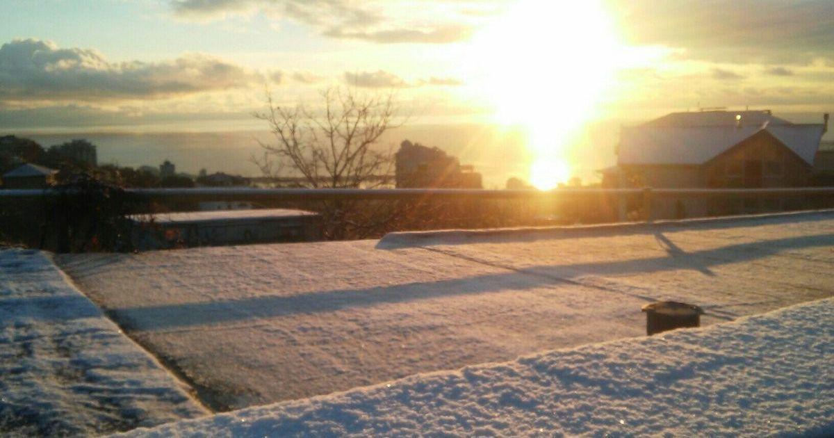 Сніг у Ялті