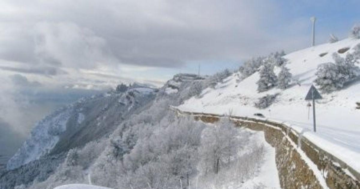 Дорога Ялта-Бахчисарай
