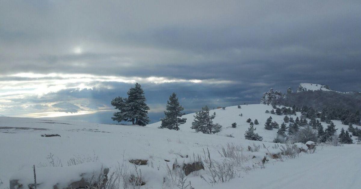Сніг на Ай-Петрі