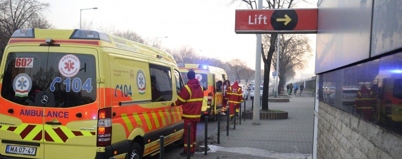 В Угорщині зіткнулися потяги метро, є постраждалі