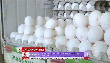 Цены на яйца стремительно растут вверх
