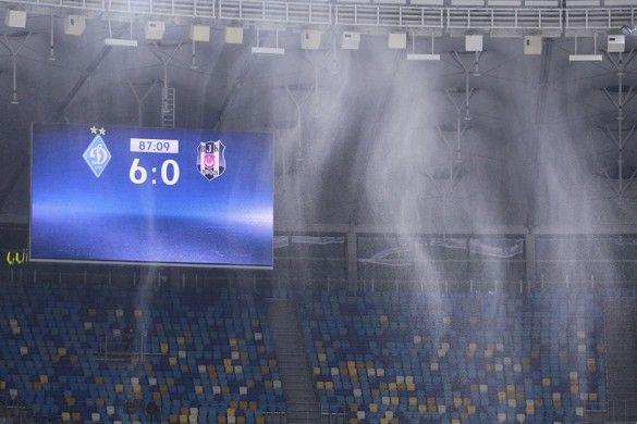 Динамо - Бешикташ - 6:0