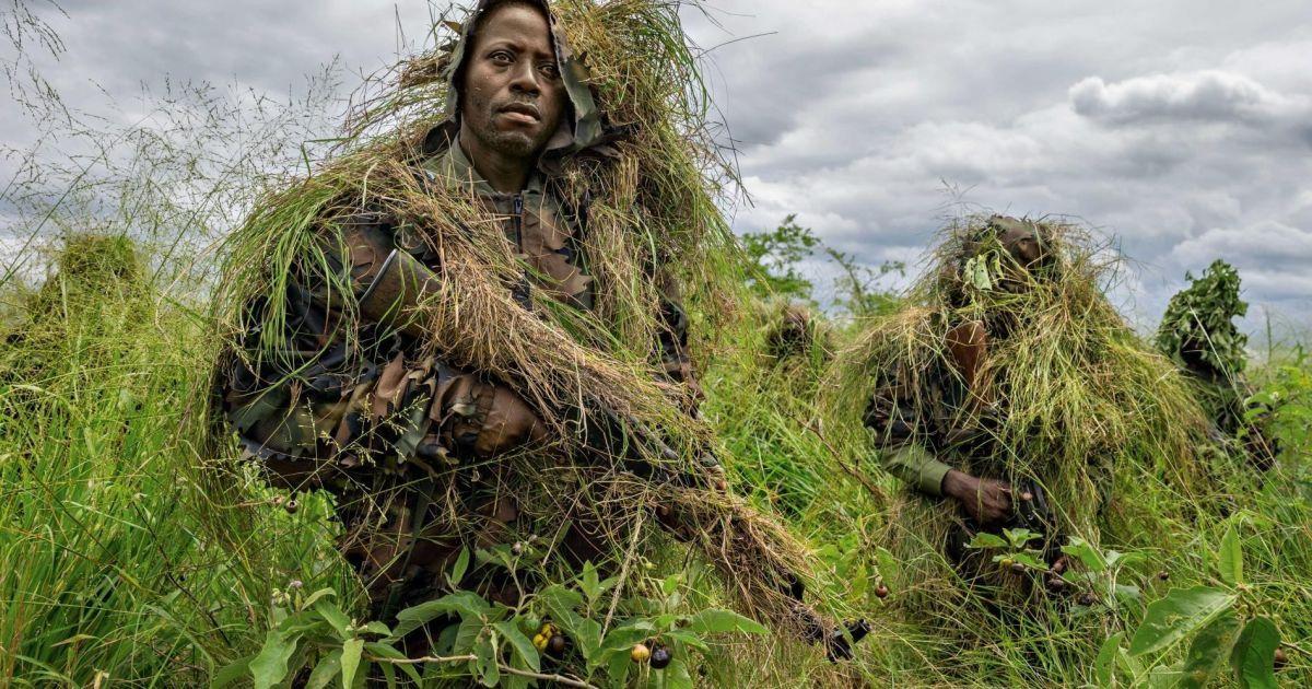 В Демократичній Республіці Конго військові проходять підготовку через постійну загрозу з боку збройних угруповань @ national geographic