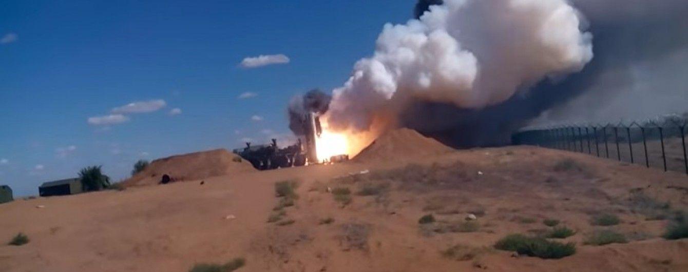 У Мережі з'явився запис невдалого пуску ракети комплексу С-300П в РФ