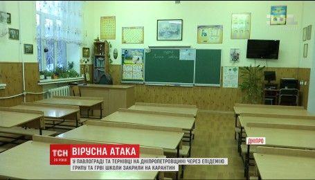 Небезпечні штами грипу вирують в п'яти областях України