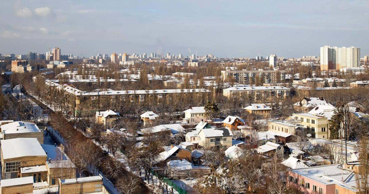 В Киеве на сутки отключили от теплоснабжения большой жилой микрорайон