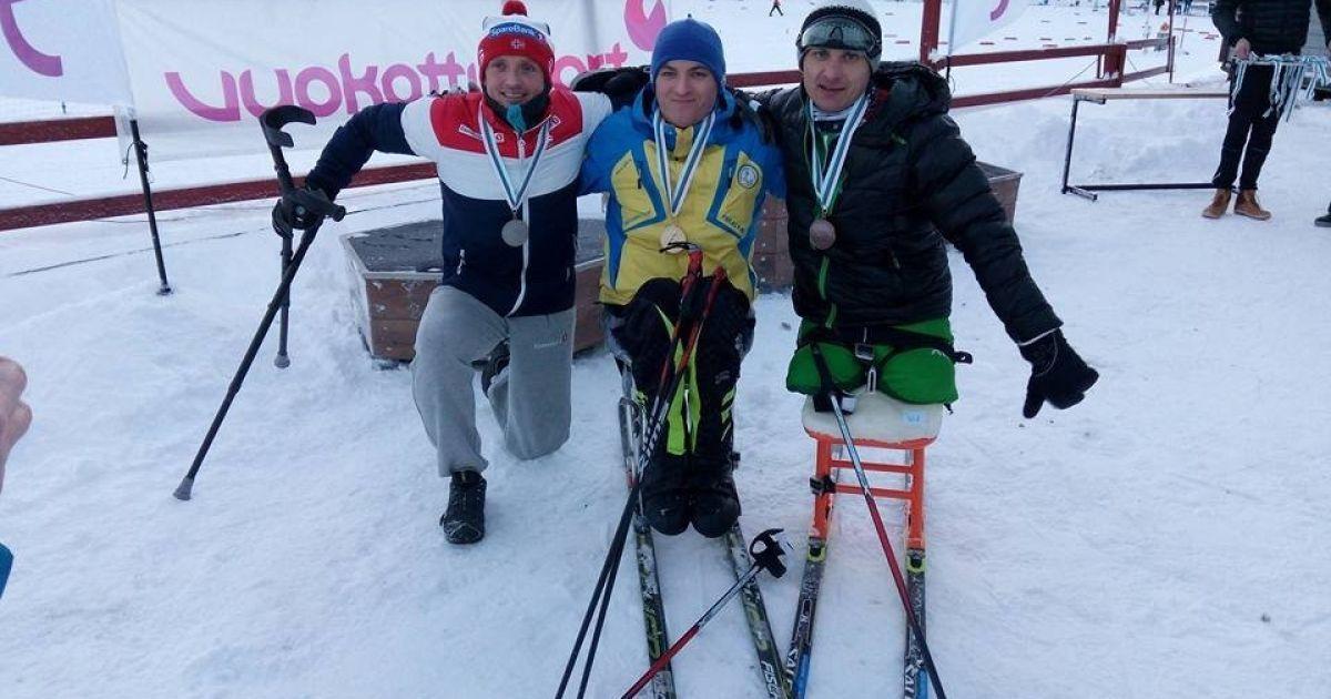 Українські паралімпійці блискуче розпочали етап Кубка світу з лижних гонок та біатлону
