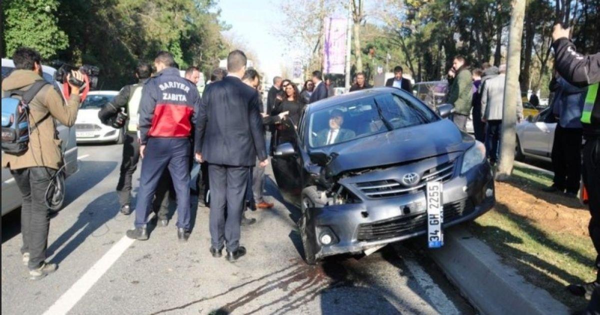 Кортеж Эрдогана попал в ДТП, есть пострадавшие