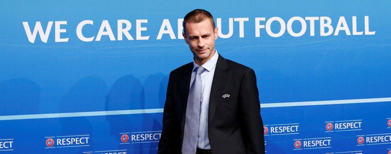 Стал известен единственный кандидат на пост президента УЕФА
