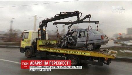 В Киеве на перекрестке произошло смертельное ДТП