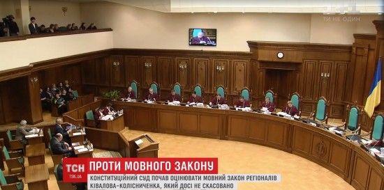 Скандал у Конституційному суді: судді виступили проти голови КСУ