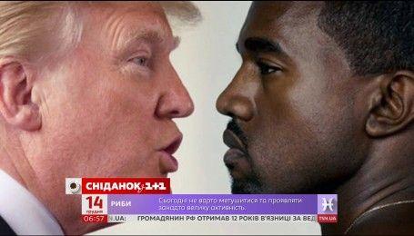 Дональд Трамп поспілкувався із реп-співаком Каньє Вестом