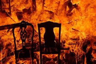 В Киеве мужчина поджег квартиру, чтобы скрыть убийство собутыльника