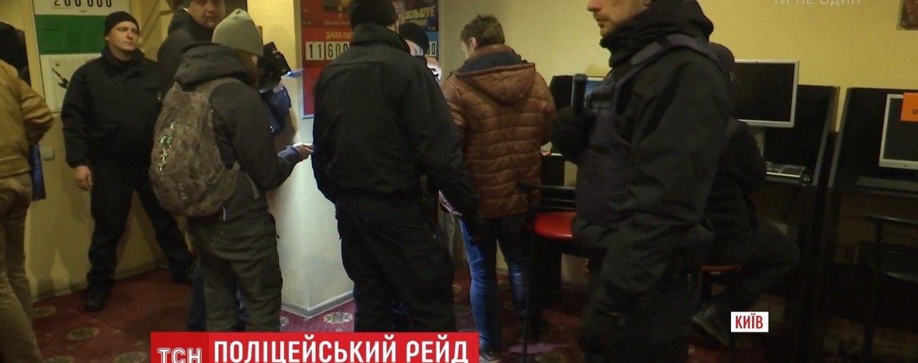 Патрульна поліція провела несподіваний нічний рейд по Києву