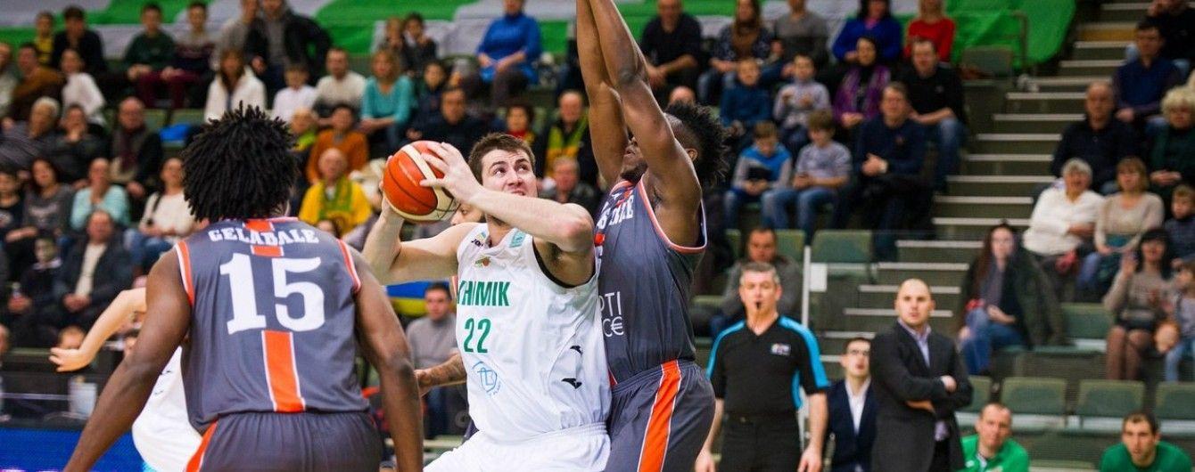 Чемпіон України знову програв у баскетбольній Лізі чемпіонів