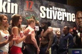 Бій за титул WBC: Стіверн переважив Повєткіна майже на 12 кілограм