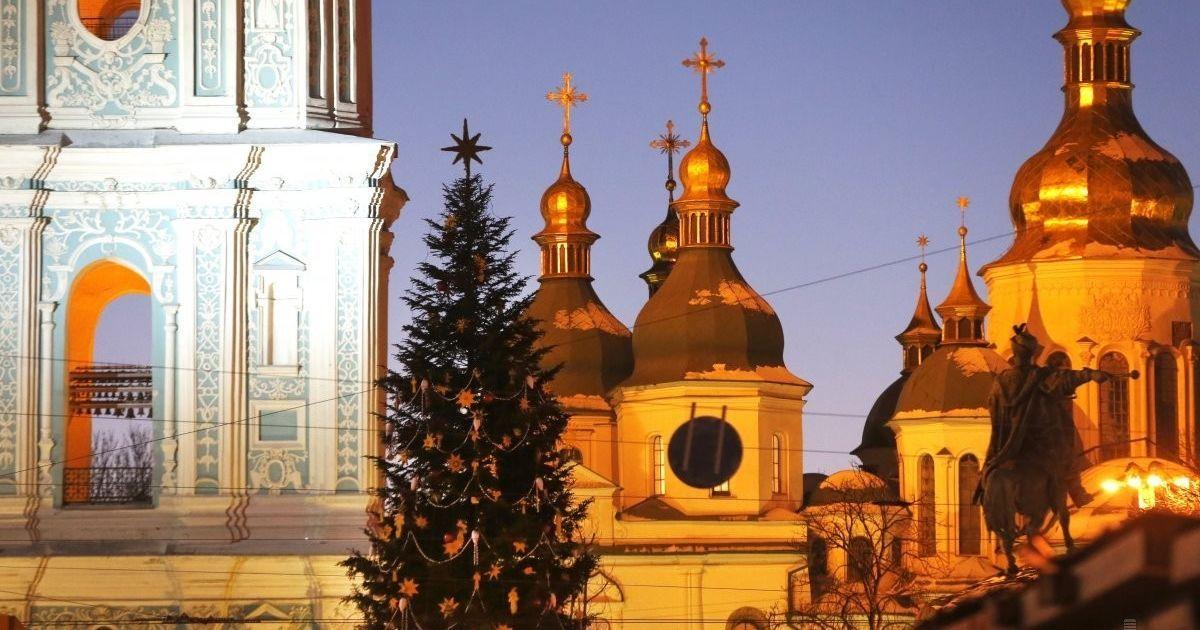 Смотрите онлайн открытие главной елки Украины