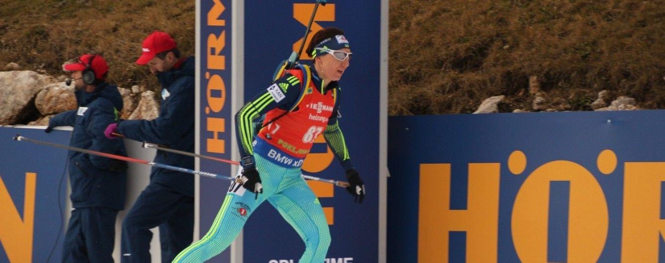 Українські біатлоністки провалили мас-старт на Кубку світу в Нове Мєсто