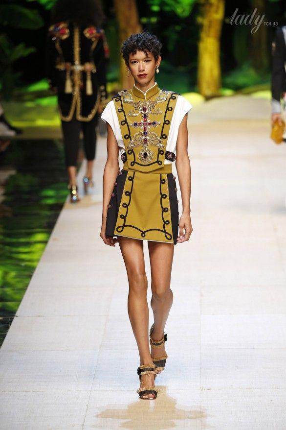 Коллекция Dolce&Gabbana  прет-а-порте сезона весна-лето 2017_6