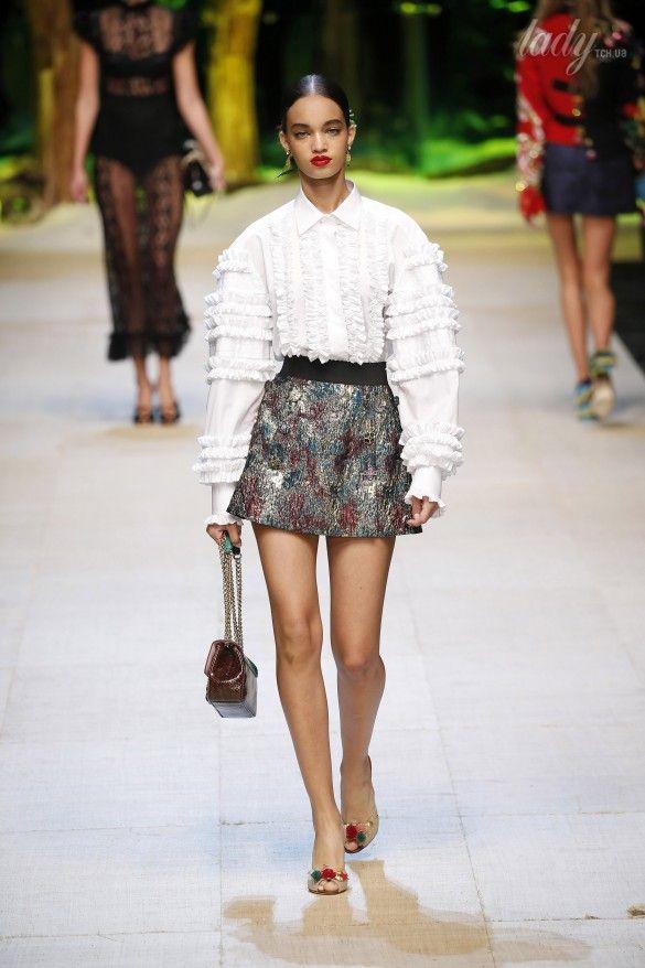 Коллекция Dolce&Gabbana  прет-а-порте сезона весна-лето 2017_11