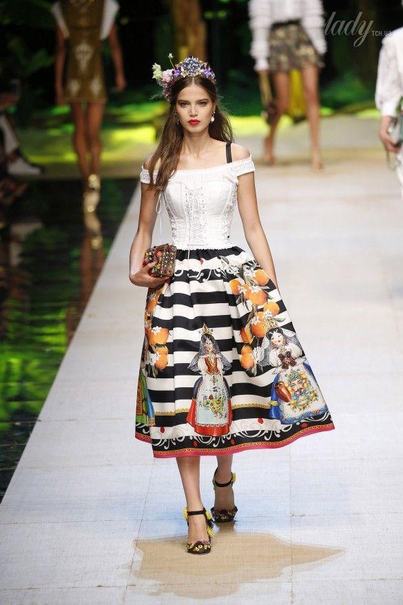 Коллекция Dolce&Gabbana  прет-а-порте сезона весна-лето 2017_9
