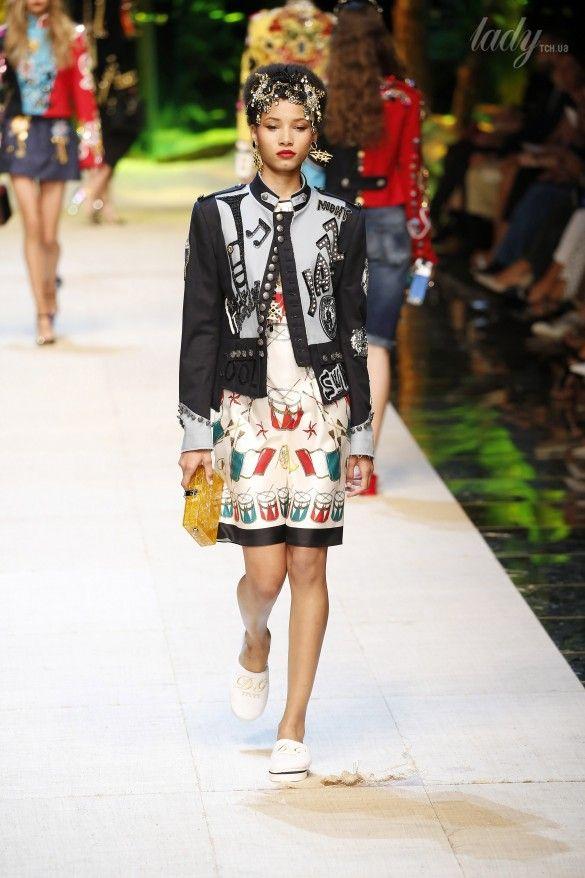 Коллекция Dolce&Gabbana  прет-а-порте сезона весна-лето 2017_7