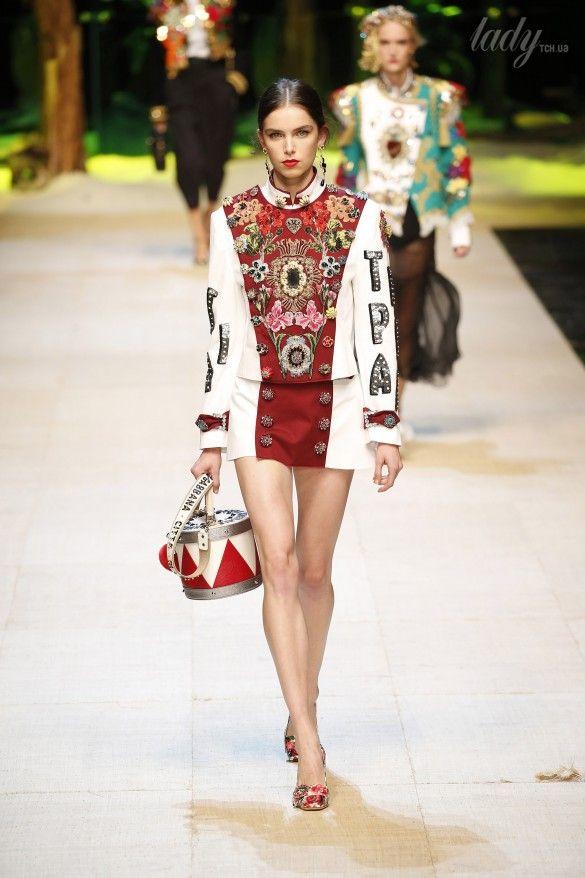 Коллекция Dolce&Gabbana  прет-а-порте сезона весна-лето 2017_1